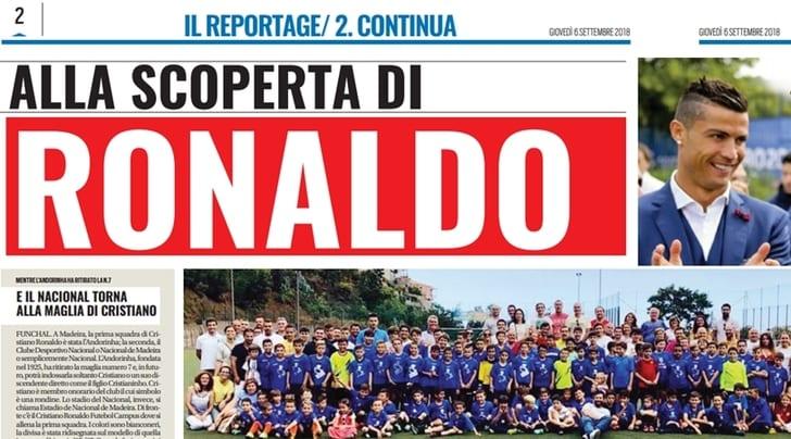 Qui Madeira, CR7 porta tanti italiani