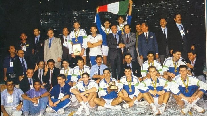 Volley: Mondiali 2018,  i Campioni del Mondo ricevuti al Foro Italico da Giovanni Malagò