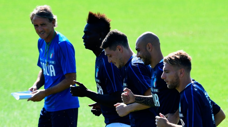 Italia, Mancini verso il 4-3-3 con la Polonia