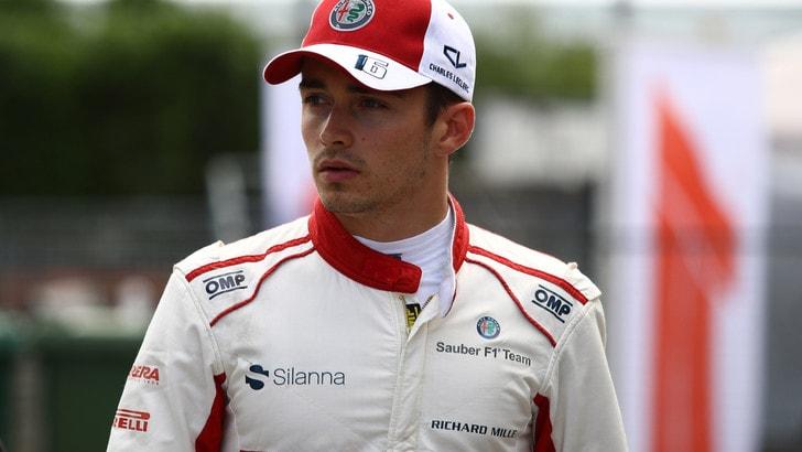 F1, Leclerc in Ferrari, Lapo Elkann anticipa l'accordo