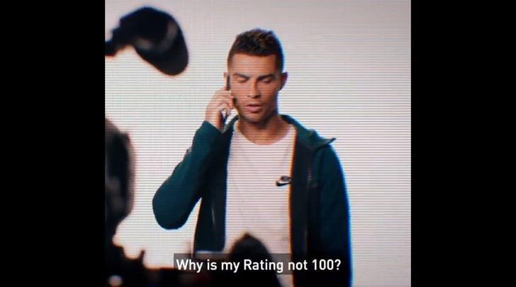 """Cristiano Ronaldo """"attacca"""" Fifa19:«Perché non mi avete dato 100?»"""