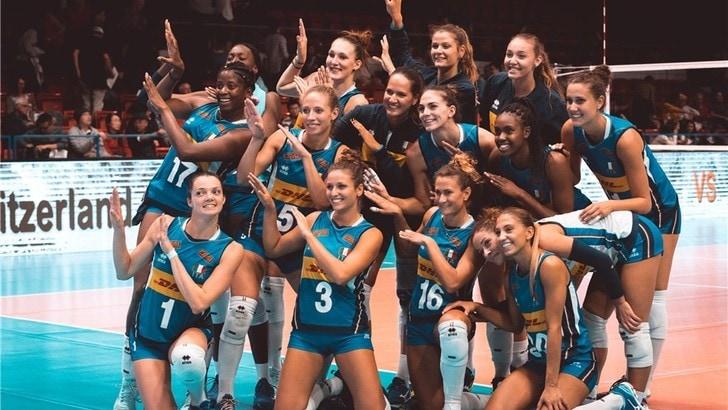 Volley: Torneo di Montreux, una bella Italia domina sulla Svizzera