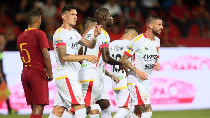 Roma ko 2-1 nell'amichevole con il Benevento