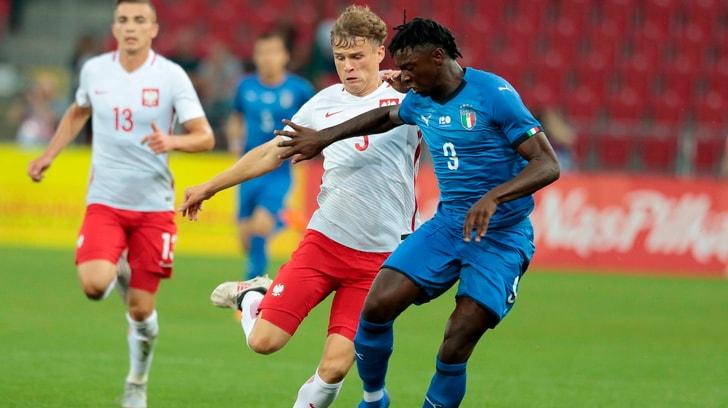 Kean trascina l'Italia U20 con una doppietta: 3-0 alla Polonia