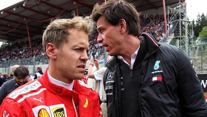 F1 Mercedes, Wolff: «Vettel vuole vincere e sta facendo il massimo»