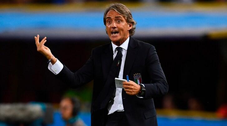 Mancini: «Italia bravissima nel secondo tempo»