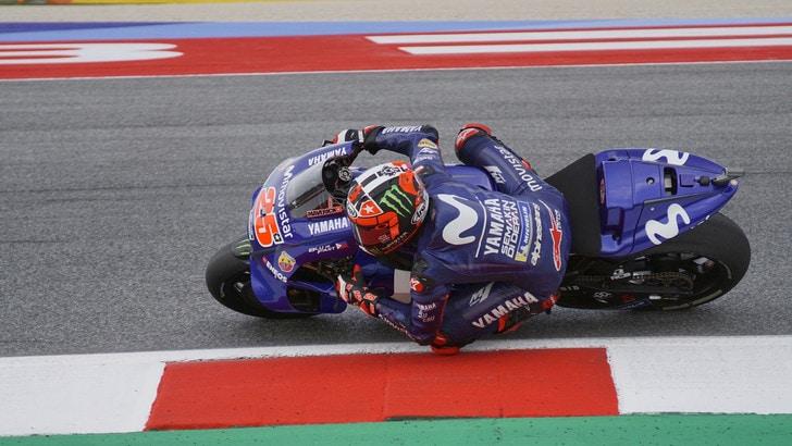 MotoGp Misano, Libere 4: scatto Viñales, è il più veloce, Rossi 5°
