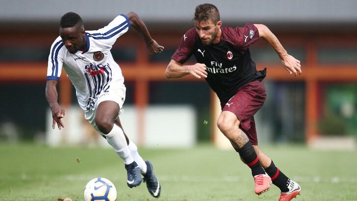 Milan-Pro Piacenza, basta Borini: 1-0