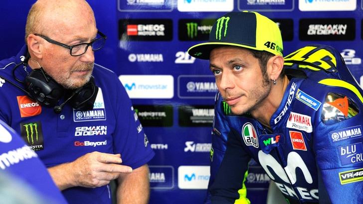 MotoGp Misano, Rossi: «Podio? Mi mancano almeno 2 decimi»