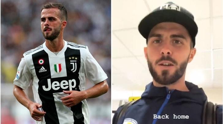 Juventus in ansia: Pjanic sostituito per infortunio