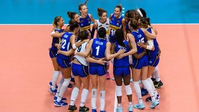 Volley: Torneo di Montreux: l'Italia ferma il Brasile e vola in finale