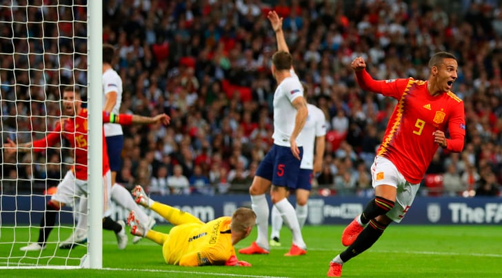 Inghilterra-Spagna 1-2, che esordio Luis Enrique!