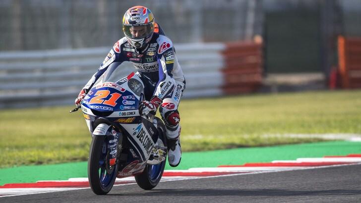 Moto3 Misano: vince Dalla Porta, Bezzecchi cade