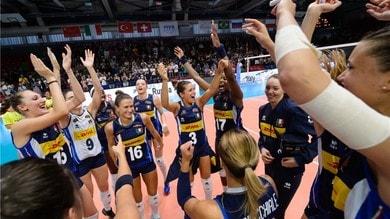 Volley: Torneo di Montreux, una super Italia batte la Russia e sale sul gradino più alto