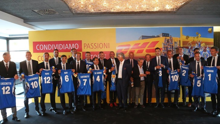 Volley: Malagò ha salutato gli azzurri Campioni del Mondo