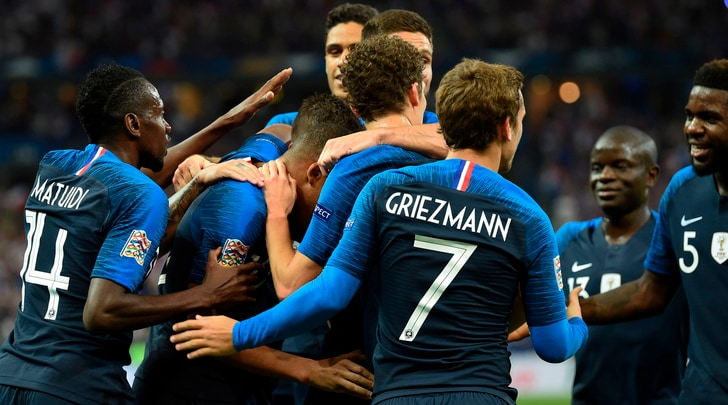 Nations League, Francia-Olanda 2-1: Mbappé-gol su assist di Matuidi