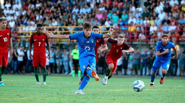Under 19, Italia-Portogallo 3-1. In gol Fagioli