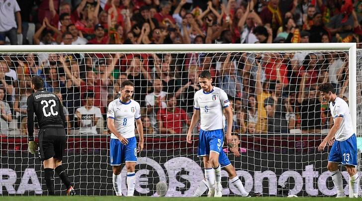 Portogallo-Italia 1-0: non c'è Cristiano Ronaldo, decide André Silva