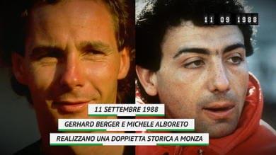 On this day - Berger-Alboreto, la storica doppietta a Monza
