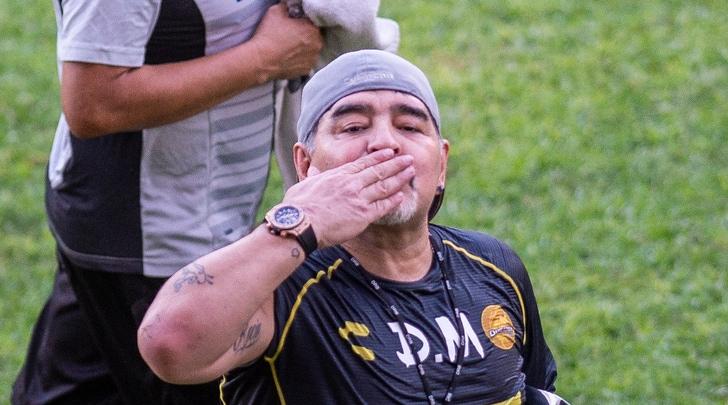 Maradona riparte dalla B messicana: «Non sono qui per divertirmi»
