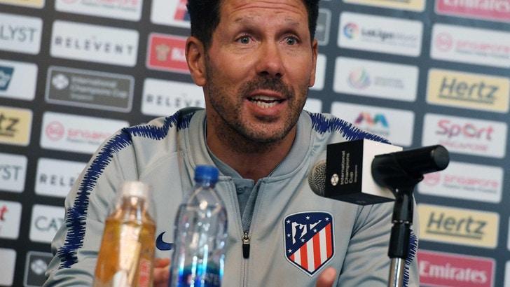 Simeone: «Allenerò l'Inter quando sarà il momento»