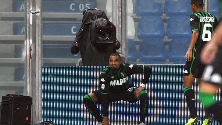 Serie A Sassuolo, Boateng: «Quando lascerò il calcio vorrei fare l'attore»