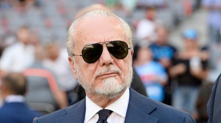 De Laurentiis:«Problemi al San Paolo, il Napoli può giocare la Champions a Bari»