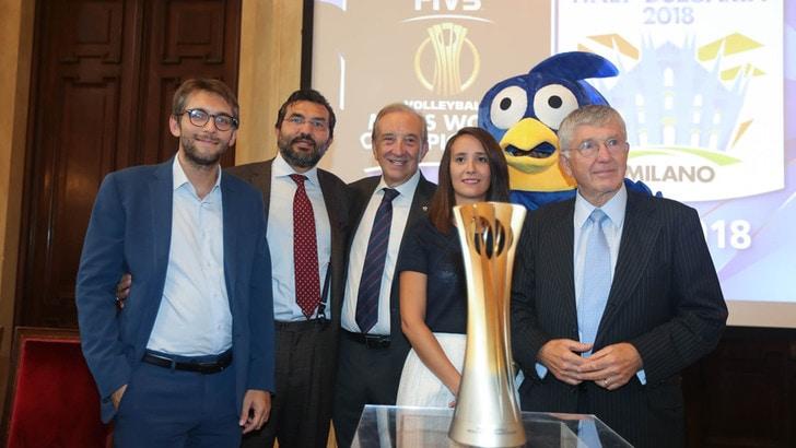 Volley: Mondiali 2018, presentato a Palazzo Marino il girone di Milano