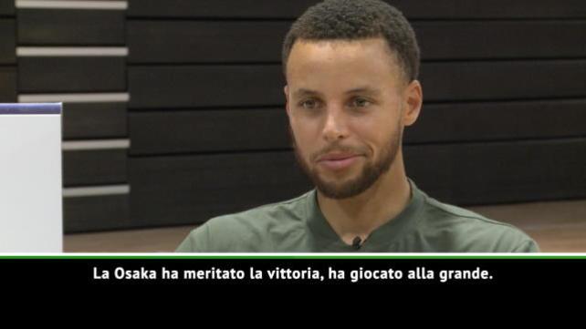 """Curry: """"Serena Williams, che classe"""""""