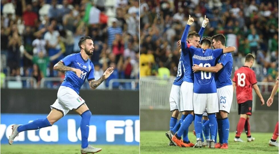 Dopo la scoppola rimediata dalla Slovacchia, gli Azzurrini di Di Biagio superano l'Albania. Le emozioni tutte nel finale