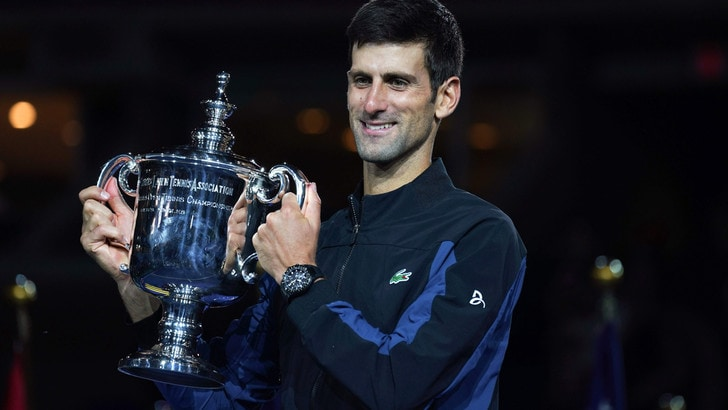 Tennis, Djokovic favorito in 3 dei 4 Slam della prossima stagione