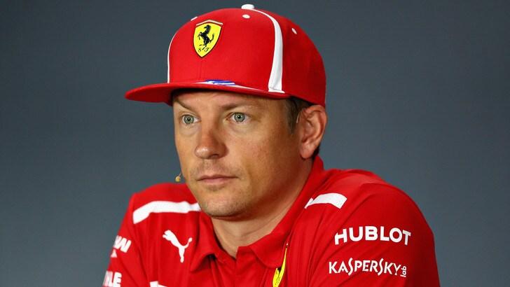 F1 Singapore, Raikkonen: «Non è stata una decisione mia l'addio alla Ferrari»