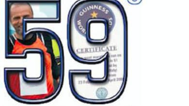 59 alla terza, Enzo Caporaso e la sfida da Guinness World Record