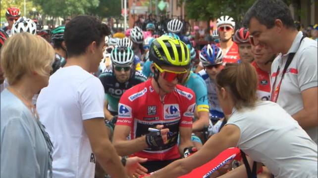 """Vuelta, 19ª tappa - Vince Pinot ma """"stappa"""" Yates"""