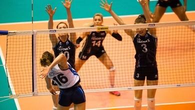 Volley: le azzurre battono l'Olanda in amichevole al tie break