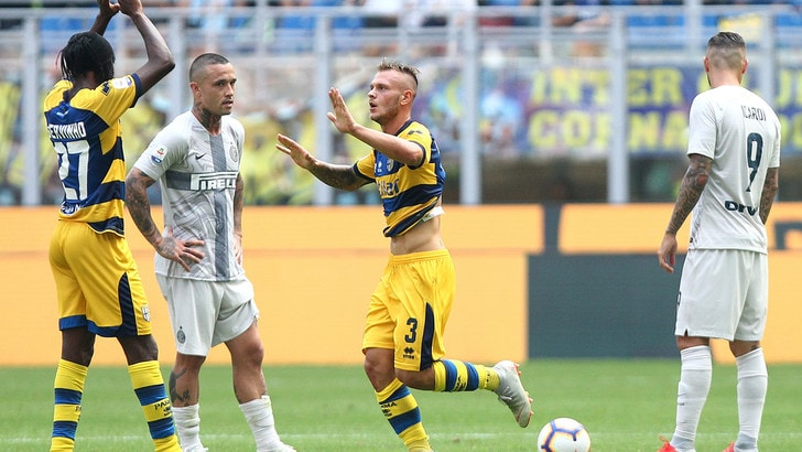 Serie A Inter-Parma 0-1, il tabellino