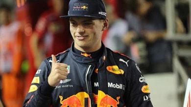 F1 Singapore, euforia Verstappen: «Ora tremo di gioia»