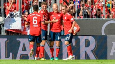 Il Bayern Monaco batte il Bayer Leverkusen: è primato solitario