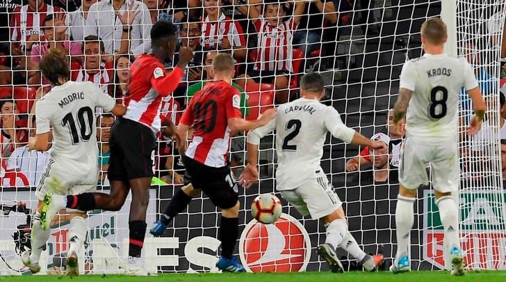 Il Real Madrid pareggia a Bilbao. Barcellona a +2 in classifica