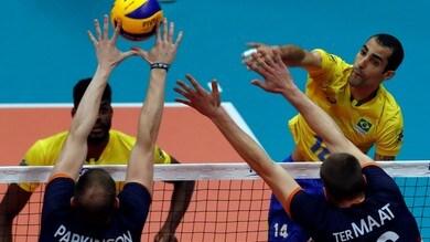 Volley: Mondiali 2018, Brasile ko, la Slovenia sgambetta il Belgio