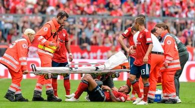 Bayern Monaco: rottura del crociato per Tolisso