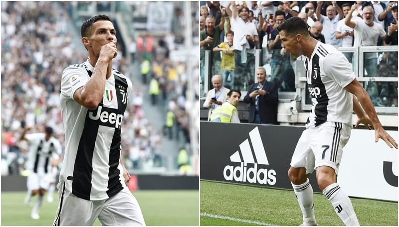 Juventus, arriva il primo gol di Ronaldo: il portoghese si sblocca dopo 320'
