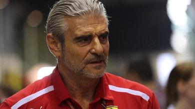 F1 Singapore, Arrivabene: «Lotteremo fino alla fine, nulla è perduto»