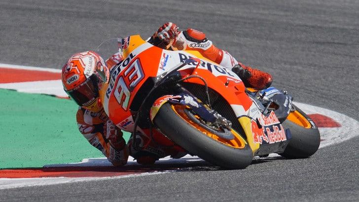 MotoGp, una curva per Marquez ad Aragon