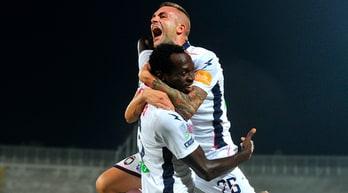 Serie B, Livorno-Crotone 0-1: Cordaz e Simy sugli scudi, seconda vittoria consecutiva per Stroppa