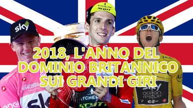 2018, l'anno del dominio britannico sui Grandi Giri