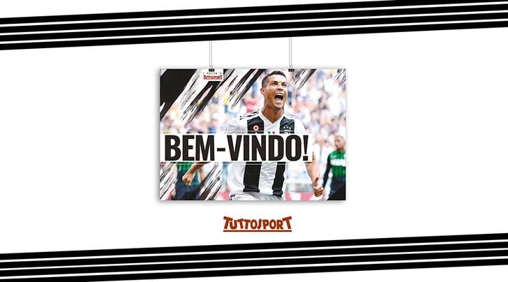 Mercoledì 19 in regalo il poster per celebrare i primi due gol di Ronaldo