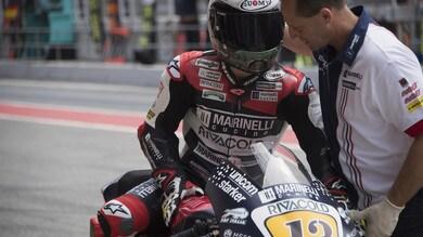 Moto2, team Marinelli Snipers: il sostituto di Fenati è Cardelús
