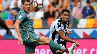Serie A Udinese, Mandragora: «Darò il massimo per conquistare la Nazionale»