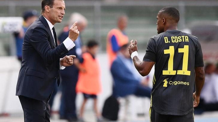 Juventus, niente ricorso per le 4 giornate a Douglas Costa